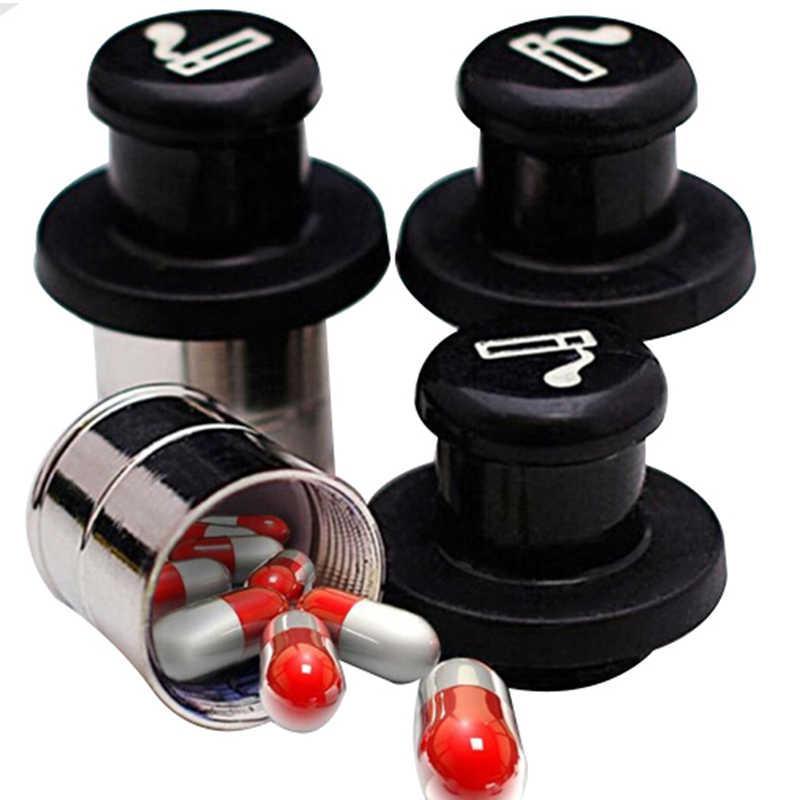 Portable Secret planque pilule conteneur Case Auto voiture accessoires Escondite sécréto voiture allume-cigare forme médecine boîte cachée