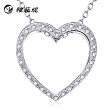 set auger high-end wholesale chain necklace han edition contracted clavicle love deserve to act the role of the market act of love