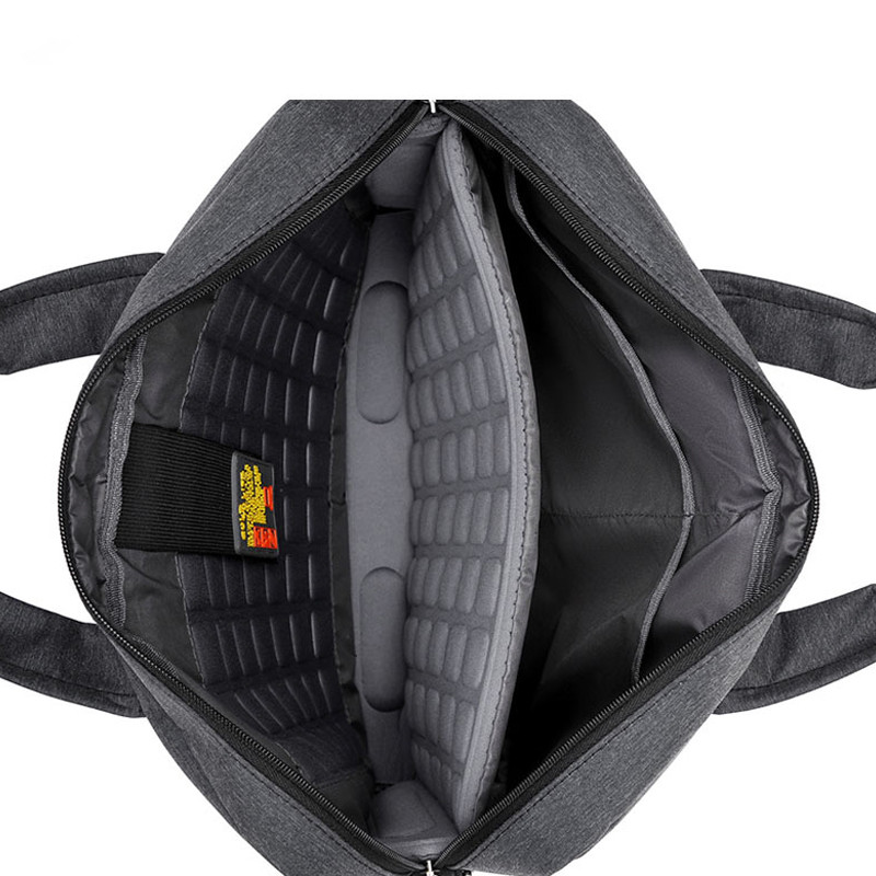 Image 3 - Waterproof Computer Laptop Bags Notebook Tablet Case Messenger Shoulder Bag for Men/Women 13 14 15 17 Inches