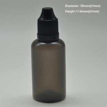 Free shipping! 500pcs PE black 5ml 10ml 20ml 30ml 50ml 100ml Plastic squeeze LDPE e liquid eye dropper bottles with Childproof c