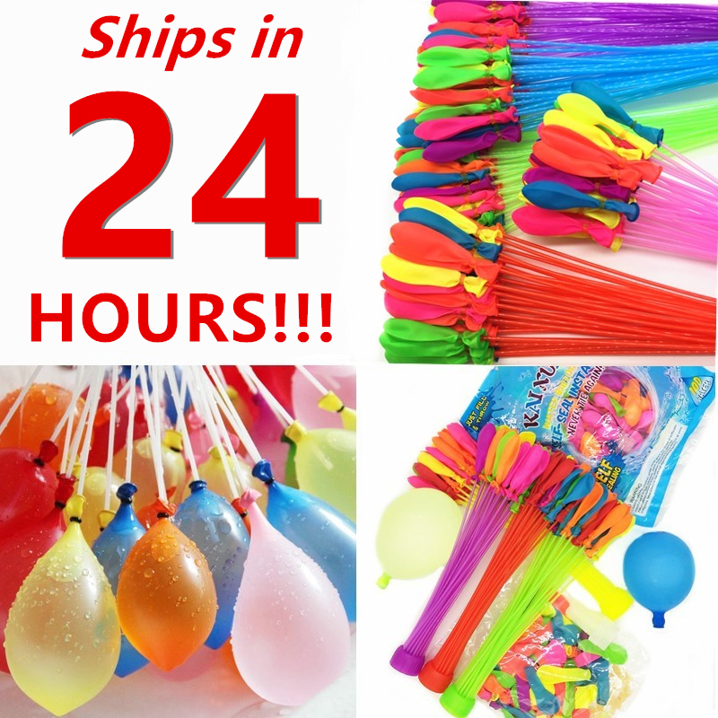 111pcs/bag Fast Filling Water Balloons Funny Summer Outdoor Toy Balloon Bunch Water Balloons Magic Bombs Toys Children Dropship