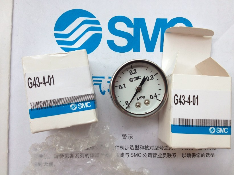 BRAND NEW JAPAN SMC GENUINE GAUGE G43-4-01 brand new japan smc genuine gauge g43 4 01