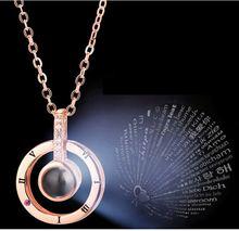 Ожерелье с подвеской i love you новинка 2019 ожерелье и кулон