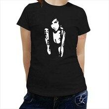 d0a4f949688 AMY WINEHOUSE camiseta nueva Camiseta de algodón Mujer moda top camisetas  chicas ropa de verano(