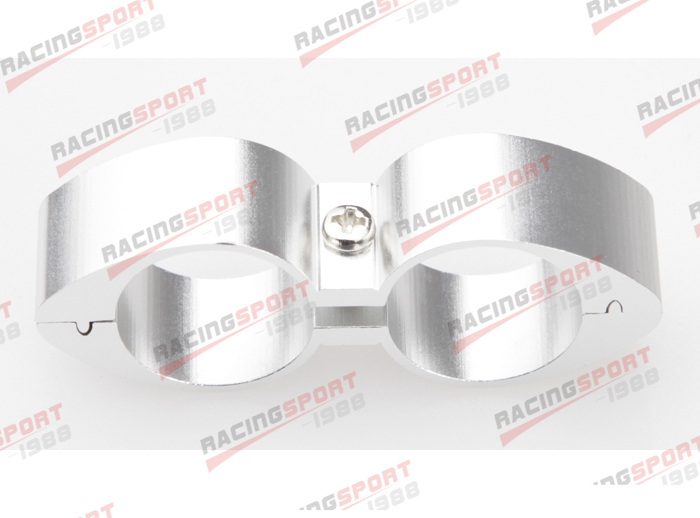 10AN 10AN ID 20.16mm Billet Fuel Silver Hose Separator Fittings Adapter