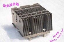 2U 771-pin CPU radiator 3 heat pipe aluminum S5000 5100 motherboard heatsink fins