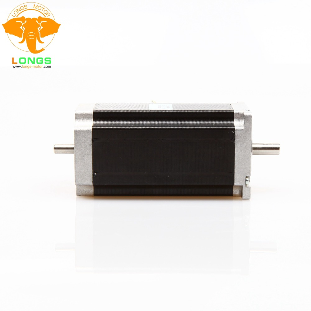 Promotion!EU Free Shipping 1PCS Nema23 Stepper Motor 435oz-in 112mm 4.2A 23HS9442B Dual shaft  High Torque CNC kitsPromotion!EU Free Shipping 1PCS Nema23 Stepper Motor 435oz-in 112mm 4.2A 23HS9442B Dual shaft  High Torque CNC kits