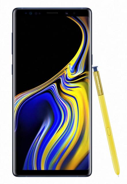 "Samsung Galaxy Note9 SM-N960F 16,3 cm (6,4 "") de 8 GB 512 GB 12 MP Android 8,1 azul"
