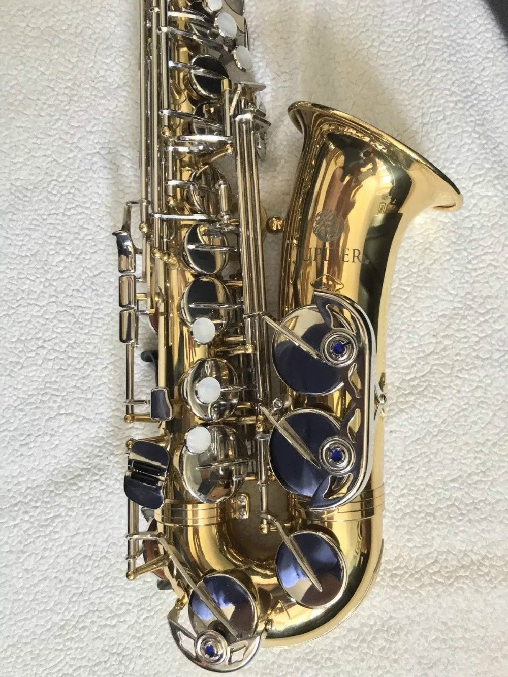 Jupiter JAS 710 Alto Eb Tune Instrument Saxophone Brass Body Gold Lacquer Nickel Plated Key E Flat For Students With Canvas Case 2015 new top class china wuyi black tea jinjunmei tea 250g organic tea gift packing warm stomach chinese tea free shippimg