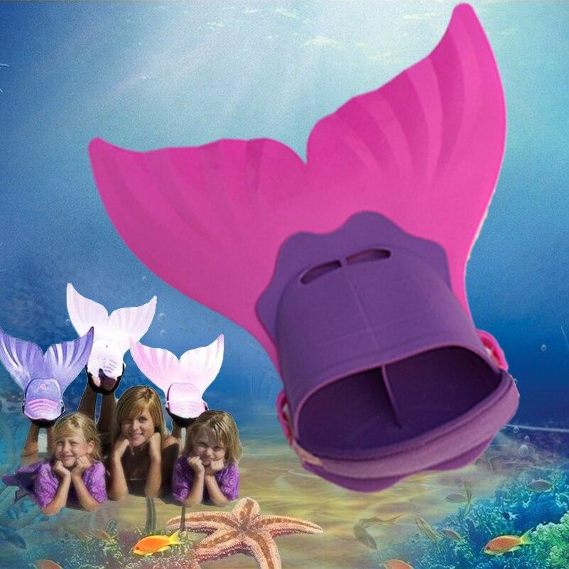 kids mermaid tails Mermaid Swim Fin Children Mermaid Tail