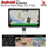 hd מסך 7.0 אנדרואיד עד מולטימדיה לרכב נגן ניווט GPS עבור אאודי A6 4G 2016 ~ 2018 MMI מקורי סגנון HD מסך 2GB + 32GB WiFi BT AUX (5)
