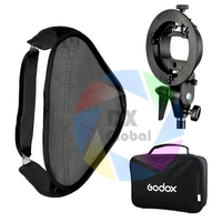 Godox S-TypeแฟลชS Peedliteยึดวางติดตั้ง+ 60x60