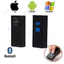 Новый Mini Портативный Беспроводной Bluetooth Сканер Штрих-Кода для Apple iOS Android Win7 500 скан/сек
