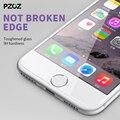 Pzoz для iphone 7 plus закаленное стекло крышка премьер-экран протектор для iphone 7/7 plus Clear Screen glass film