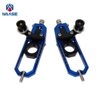 waase Motorcycle Chain Adjusters with Spool Tensioners Catena For Yamaha YZF R1 R1M R1S 2015 2016 2017 2018