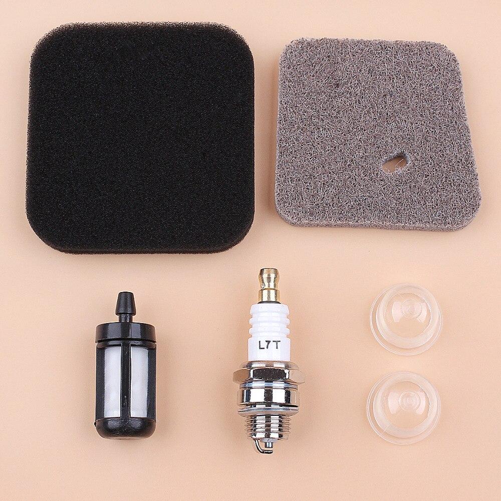 Air Filter Primer Bulb Kit For STIHL FS38 FS45 FS46 FS55 FS75 FS80 FS85 HS75 HS80 HS85 KM85 Grass Trimmer Strimmer
