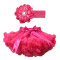 New Arrival fashion baby and children girl tutu pettiskirt set include hairband and skirt Free shipping