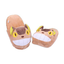 My Neighbour Totoro Catbus Susuwatari Fairydust Plush Home Shoes Indoor Slippers