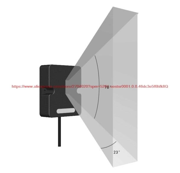 HOT SALE] 24GHz microwave ranging radar + display body