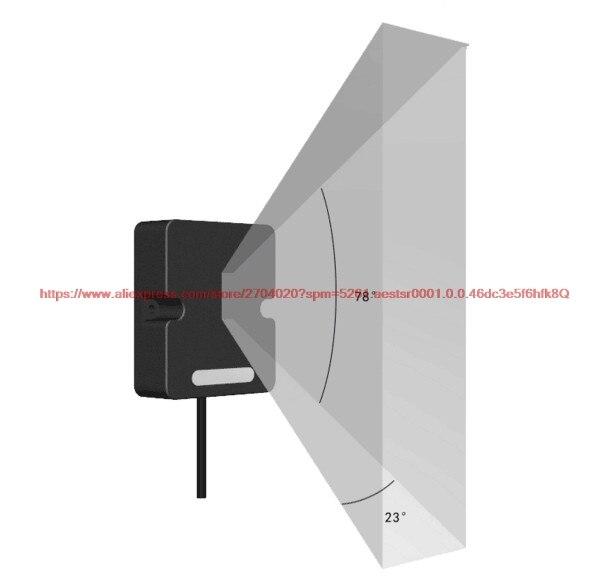 FMK24E5100/FMK24E5110 FMK24-E Series Microwave Ranging Radar 24GHz Radar Sensor Barrier Floor Garage Security