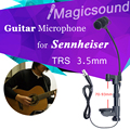 70-93mm Thickness Wooden Guitar Condenser Microphone !! High Quality TRS 3.5mm Guitar Mic for Sennheiser Wireless System