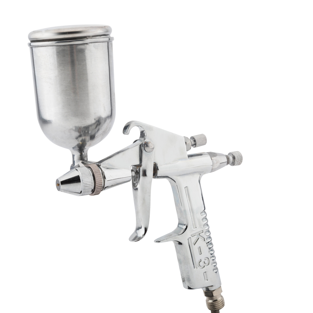 Mini Paint Sprayer Gun K3 HVLP Gravity Feed Air Paint Spray Gun Airbrush For DIY Painting Car Aerograph Surface Maintenance