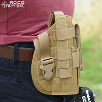 ROCO Tactical Gun Holster Molle Modular Pistol Holster With Magazine Pouch For Right Handed Shooters 1911