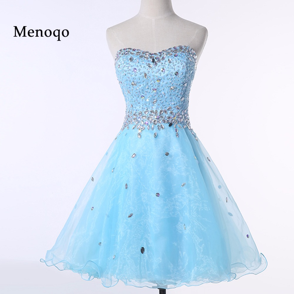 PRD277 Real Photo New fashion Ball gown Party   dresses   Beaded Sweetheart Organza short   cocktail     dresses   2019