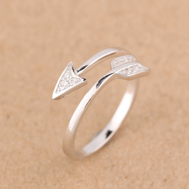 Unisex Wholesale Authentic 925 Sterling Silver Jewelry Love Arrow