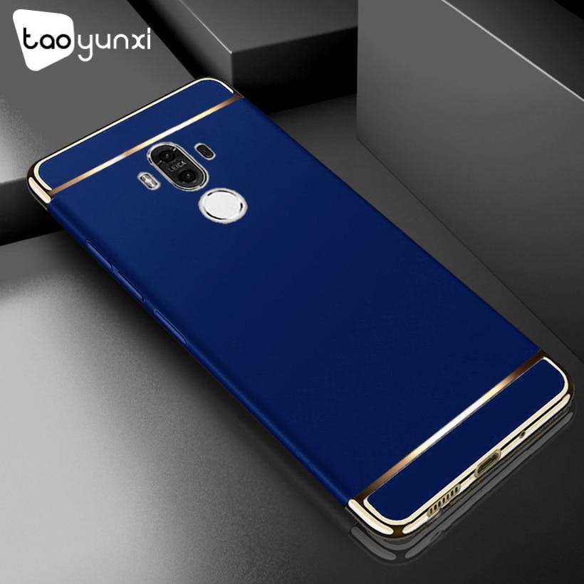 TAOYUNXI Plating Plastic Case For Huawei Mate 10 Pro Case Back Cover Coque Funda for BLA-L09 BLA-L29 BLA-AL00 Anti-Knock Etui