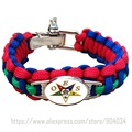 Custom   550 Paracord Bracelets OES Order of the Eastern StarParacord Bracelet  Adjustable Survival Bracelet