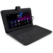 10,1 ''дюймовый Android планшетный ПК кожаный чехол USB Проводная клавиатура подставка 20A Прямая поставка