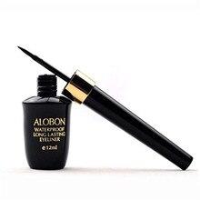 12 мл жидкости Подводка для глаз Водонепроницаемый глаз Liner Pencil Ручка Черный Make Up comestic множество