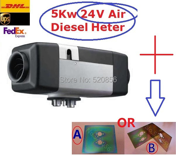 Made In China Hot Sell In Europe 5kw 24V Air Diesel Heater Similar Auto Liquid Parking