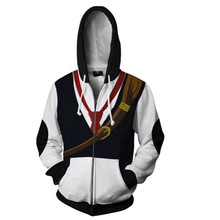 The Seven Deadly Sins Meliodas Anime Sweatshirts Hoodie Cosplay Costume Jackets Men Top Coat Zipper Hoded цена