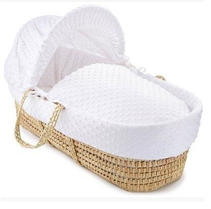 Corn bran Baby Cribs baby Bedding Mother & Kids European style baby cradle 67*28 cm whole sale 2017 good price hot new portable  Платье