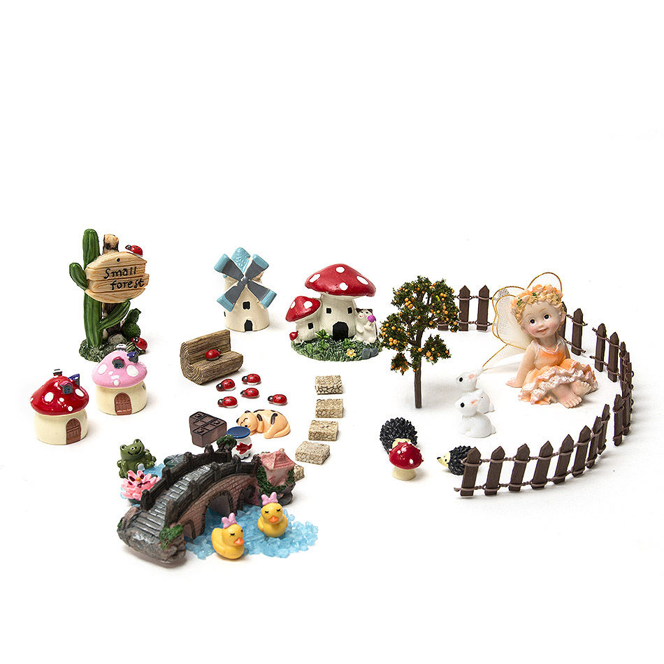 Cheap fairy garden supplies fairy garden kit ideas w92 for Garden accessories online