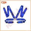 2016 Nuevo SPA Llegada 3 pulgadas 4 puntos de Liberación Rápida Azul Racing Cinturones de Seguridad/Cinturones de Seguridad/Arnés