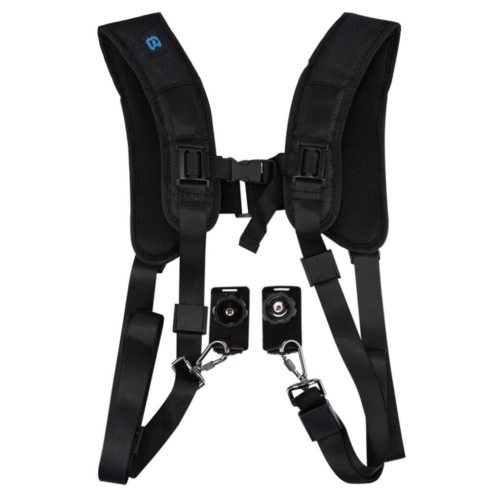 DSLR Camera Single Double Shoulder Sling Strap For Nikon P900 P900S D7100 D7200 D3100 D3200 D3300 D3400 D5600 D5500 D5200 D750