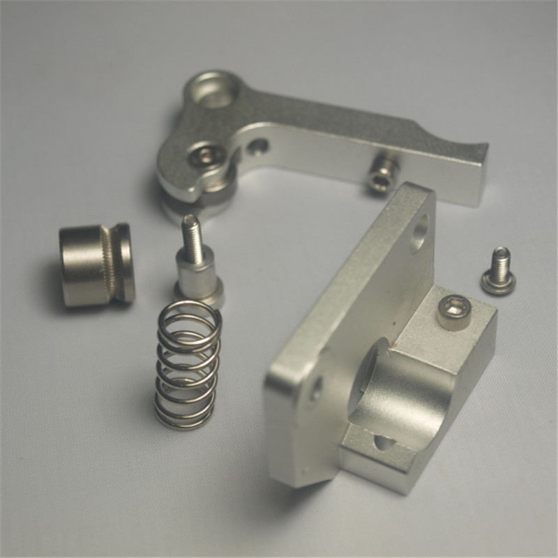 Reprap Replicator 3D printer spare parts right-hand aluminum extruder upgrade all metal direct Extruder kit for 1.75 mm