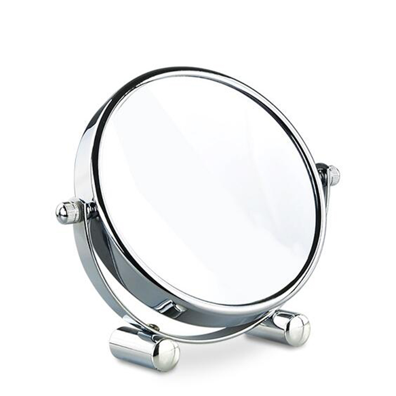 5 inches Folding desktop makeup mirror 3X 5X 7X 10X magnifying Double side mirror metal Portable travel Cosmetic mirror 8 inches folding desktop makeup mirror 3x 5x 7x 10x magnifying double side mirror metal portable travel cosmetic mirror