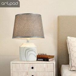Artpad 5W Illuminiate romantyczna dekoracja stołu światło z malowidło tuszowe studium bazowe salon nocne oświetlenie nocne biurko w Lampy na biurko od Lampy i oświetlenie na