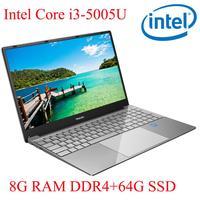 עם התאורה האחורית ips P3-01 8G RAM 64G SSD I3-5005U מחברת מחשב נייד Ultrabook עם התאורה האחורית IPS WIN10 מקלדת ושפת OS זמינה עבור לבחור (1)