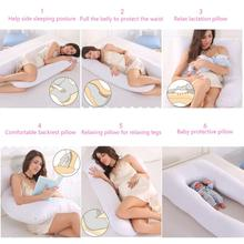 U Shape Maternity Pillows – Side Sleepers