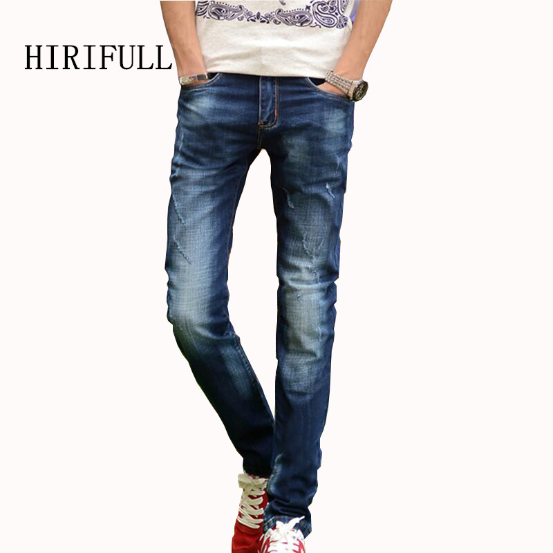 All-match Jeans Men Four Seasons Can Wear Men's Fashion Brand Slim Jeans Young People Elastic Quality Mannen Vaqueros Cowboy young people young people all at once