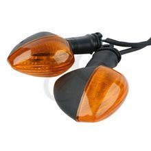 Motorcycle Pair Amber Lights Turn Signals Indicator For YAMAHA YZF R1 1000 R6 600 FZ1 FZ6 yamaha stage custom birch sbp2f5 honey amber
