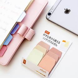 60 листов/упаковка конфеты цвет индекс Липкие заметки ноутбук аксессуары для планировщика инструмент индекс липкая наклейка сообщение