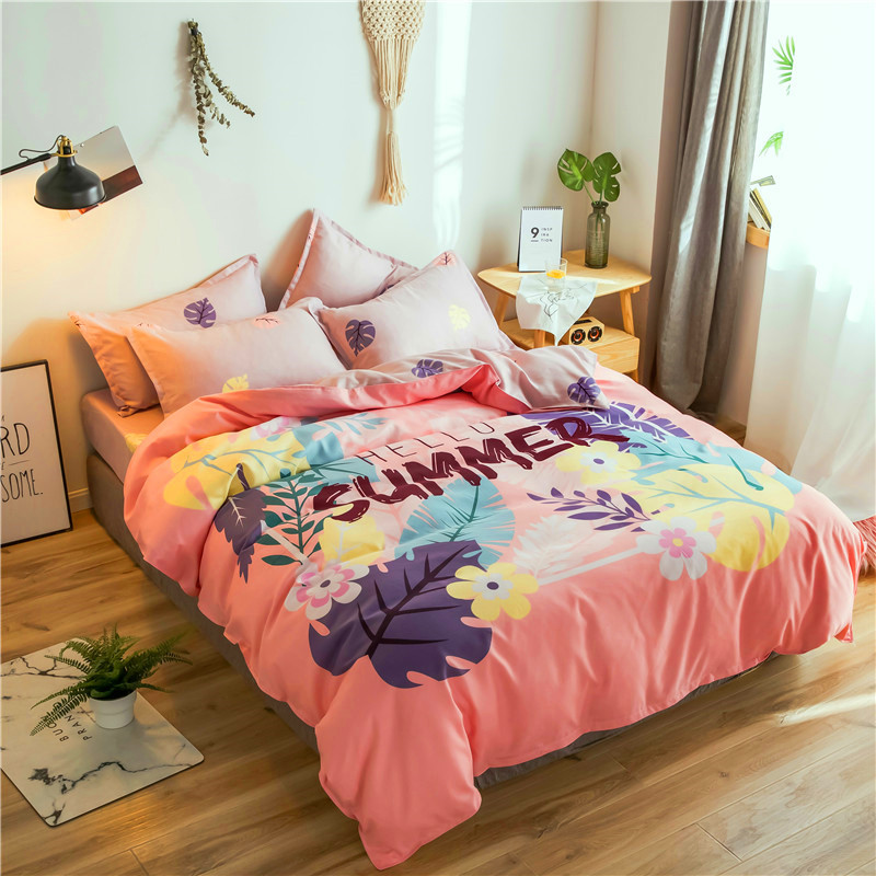 Klonca luxury bedding set cotton bed set summer sheet contracted fashionable comforter bed setKlonca luxury bedding set cotton bed set summer sheet contracted fashionable comforter bed set