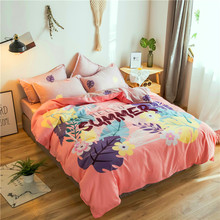 Klonca luxury bedding set cotton bed summer sheet contracted fashionable comforter