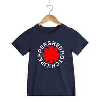 Cotton Short Sleeve Children T Shirts Rock Band Red Hot Chili Peppers Fashion Child T Shirts